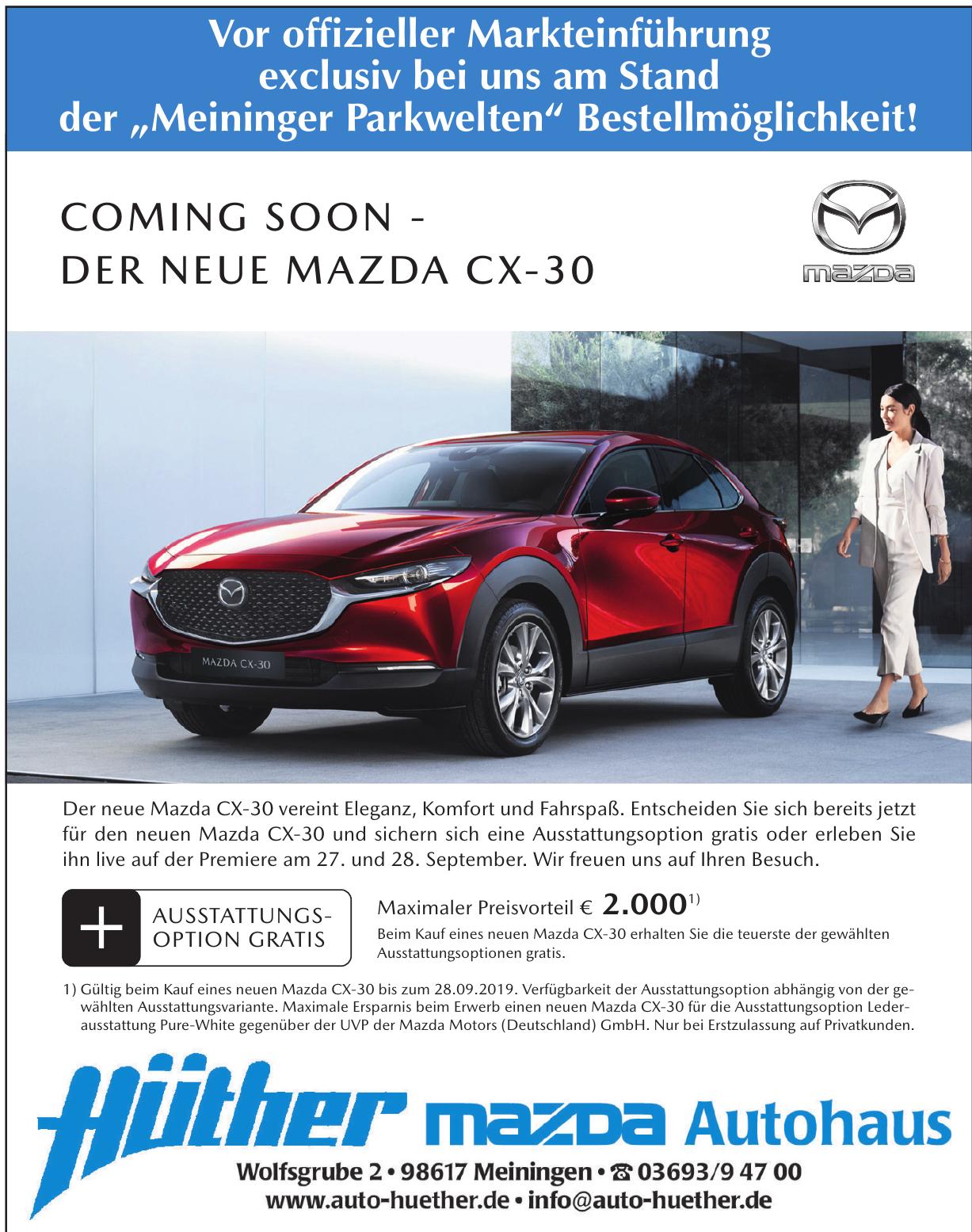 Mazda Autohaus Hüther