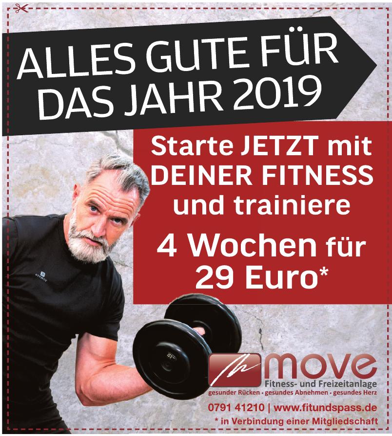 Move Fitness- und Freizeitanlage