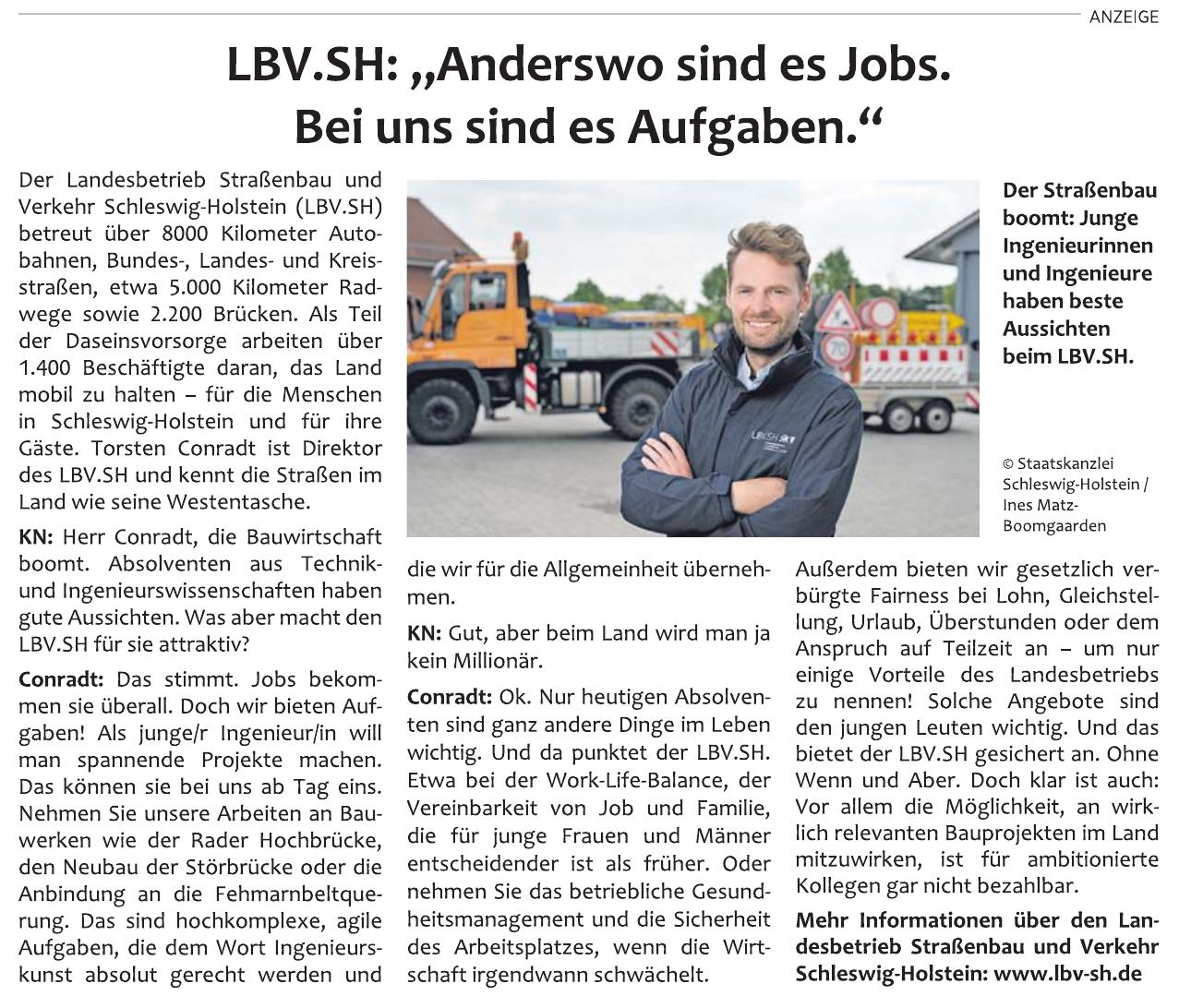 Landesbetrieb Straßenbau und Verkehr Schleswig-Holstein (LBV.SH)