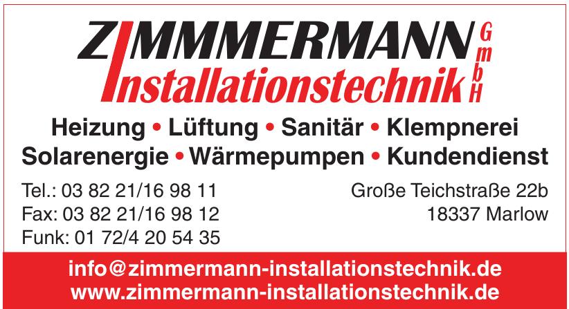 Zimmermann Installationstechnik GmbH