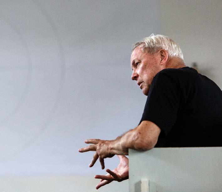 Robert Wilson inszeniert das Dschungelbuch am Düsseldorfer Schauspielhaus. Foto: Chloé Bellemère