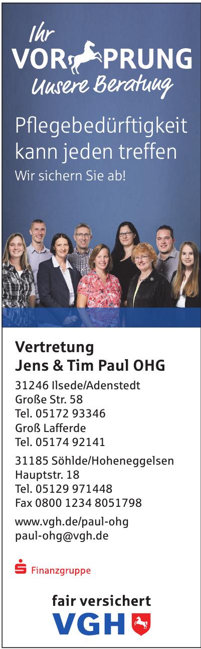 VGH Vertretung Jens & Tim Paul OHG