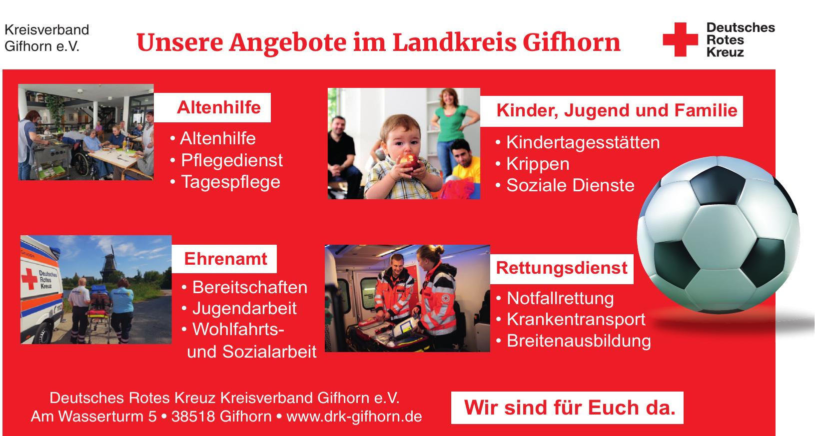 Deutsches Rotes Kreuz, Kreisverband Gifhorn e. V.