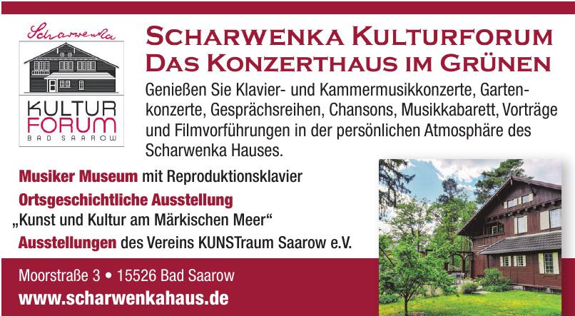 Scharwenka Kultur Forum Bad Saarow