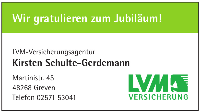 LVM-Versicherungsagentur Kirsten Schulte-Gerdemann