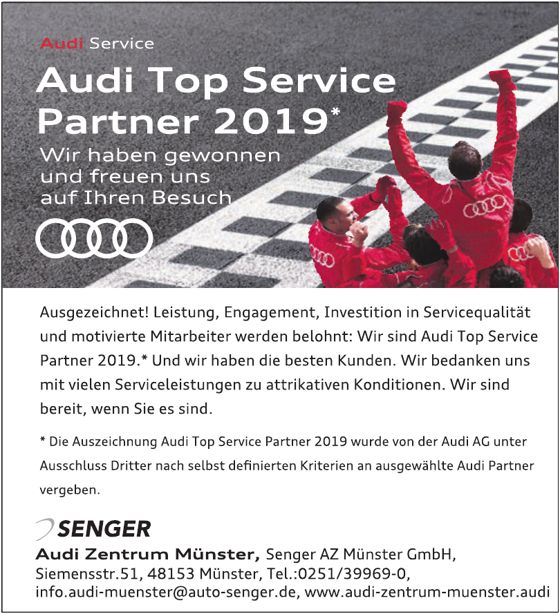 Audi Zentrum Münster, Senger AZ Münster GmbH