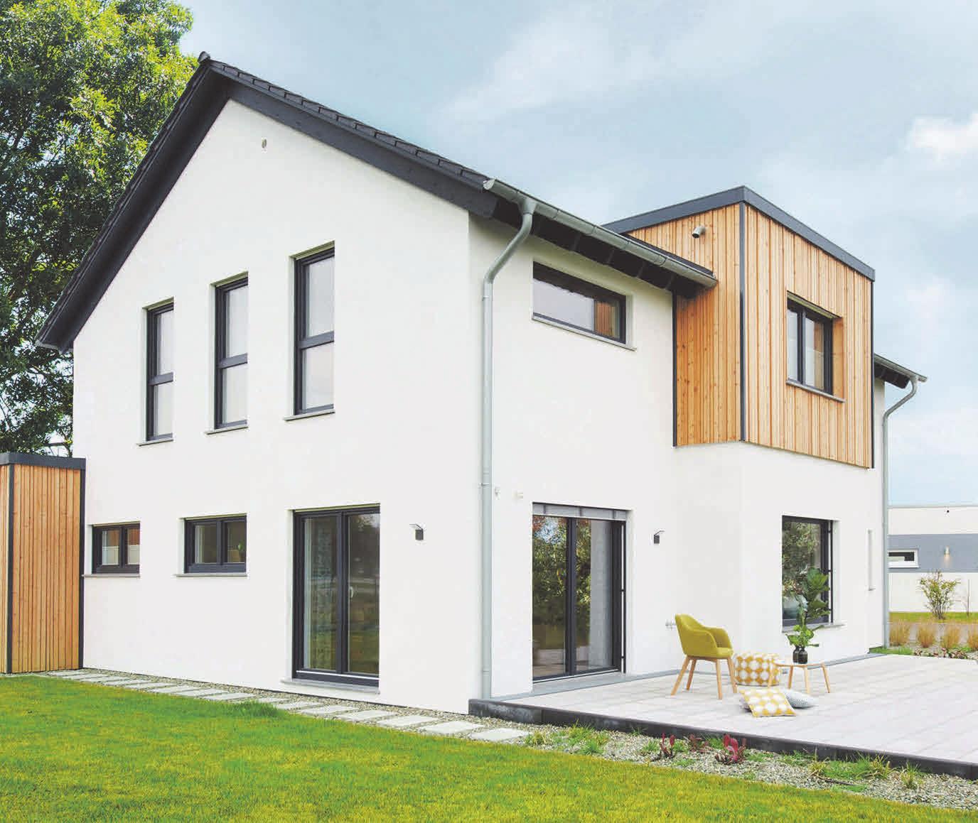 Das Fingerhut Haus Günzburg steht für Nachhaltigkeit und ökologische Bauweise. Quelle: privat