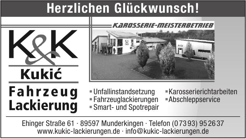 K & K Kukić Fahrzeug Lackierung