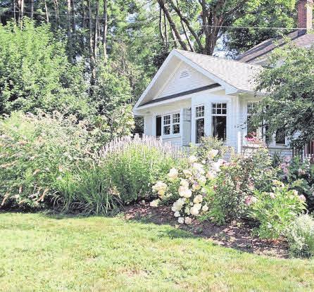 Der Vorgarten eines Hauses bestimmt den ersten Eindruck, den Besucher von den Bewohnern gewinnen.