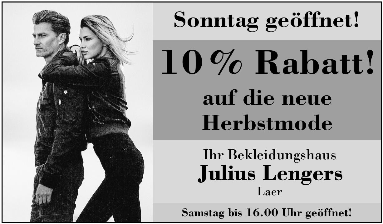 Bekleidungshaus Julius Lengers
