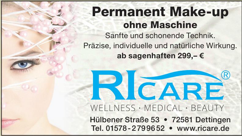 Ricare Wellness, Medical, Beauty