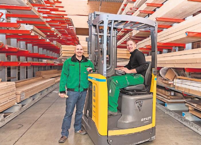Eine Ausbildung im Holzfachhandel ist vielseitig, zukunftssicher und bietet beste Karrierechancen. Foto: GD Holz