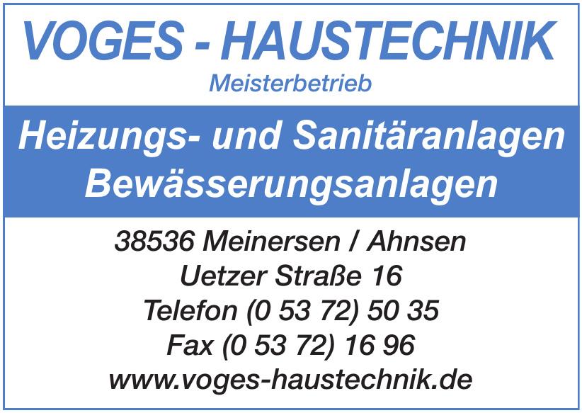 Voges-Haustechnik