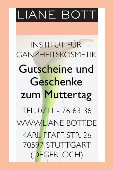Liane Bott - Institut für Ganzheitskosmetik