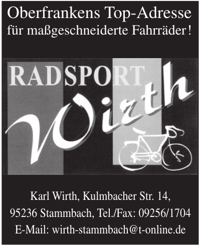Radsport Wirth