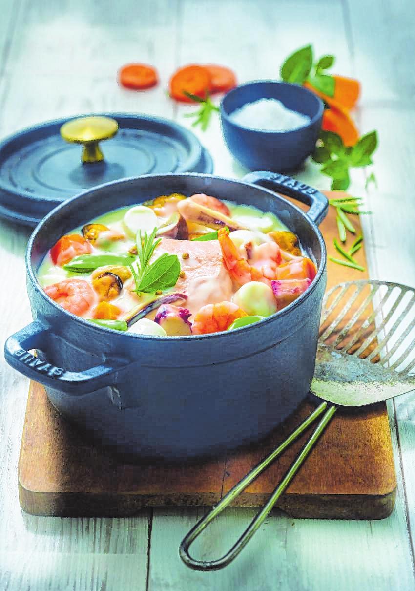 Stimmungsaufhellend: Gerichte mit Fisch und Meeresfrüchten sind auch für Ostern eine gesunde Idee. Bild:Escal Seafood/spp-o