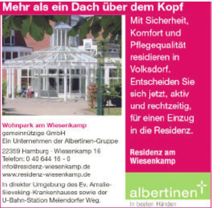Wohnpark am Wiesenkamp gemeinnützige GmbH