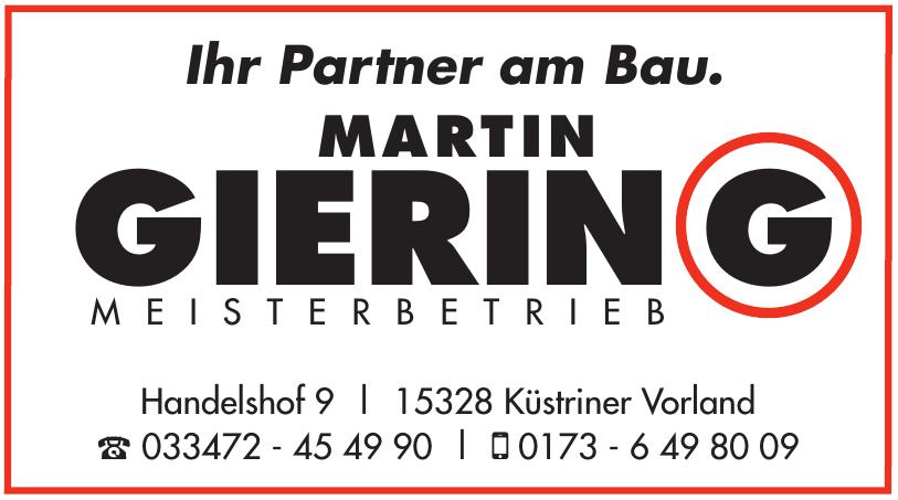 Martin Gierin Meisterbetrieb