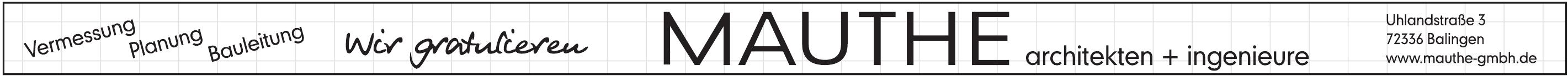 Mauthe GmbH Architekten + Ingenieure