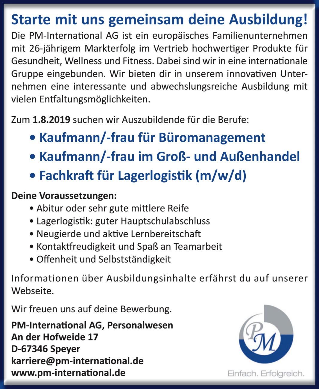 PM-International AG, Personalwesen