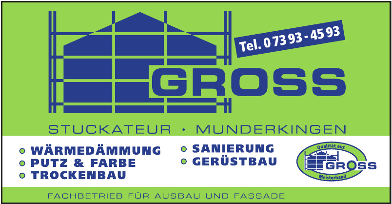 Gross Stuckateur, Munderkingen