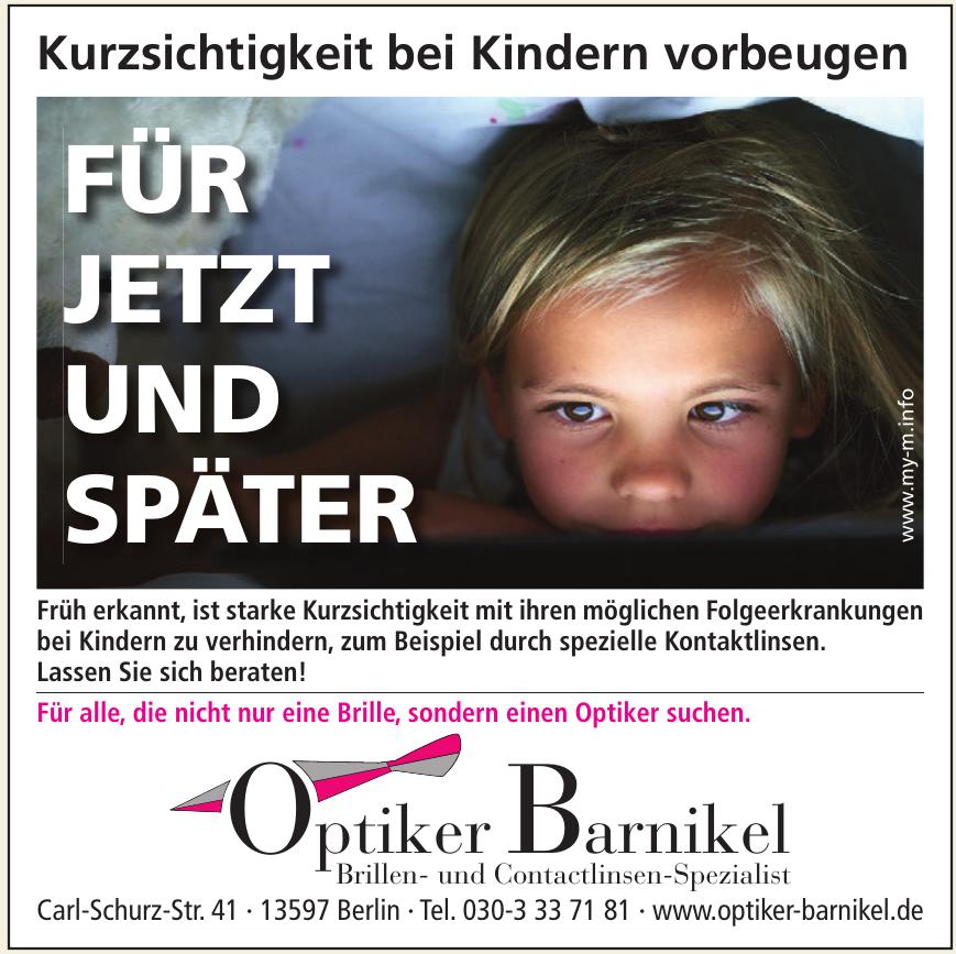 Optiker Barnikel