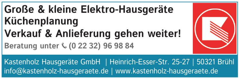Kastenholz Hausgeräte GmbH