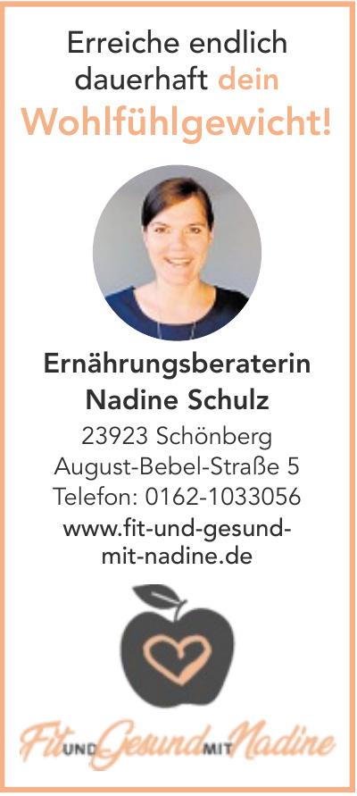 Ernährungsberaterin Nadine Schulz