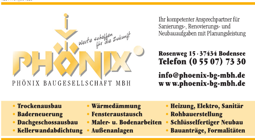 Phönix Baugesellschaft mbH