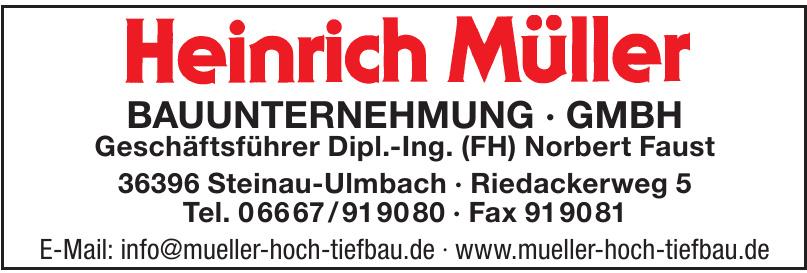 Heinrich Müller Hoch- und Tiefbau GmbH