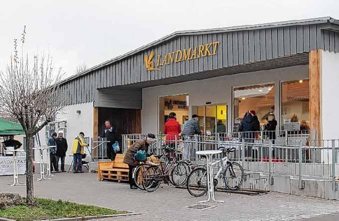 Landmarkt in Veckenstedt
