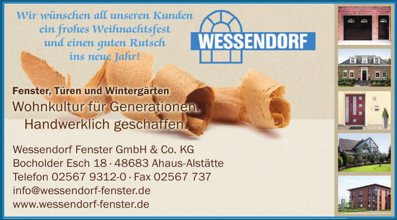 Wessendorf Fenster GmbH & Co. KG