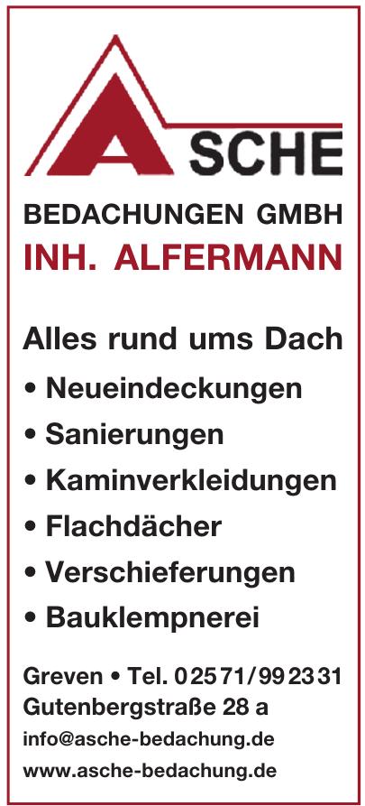 Asche Bedachungen GmbH