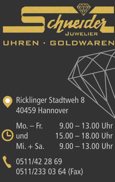 Schneider Juwelier