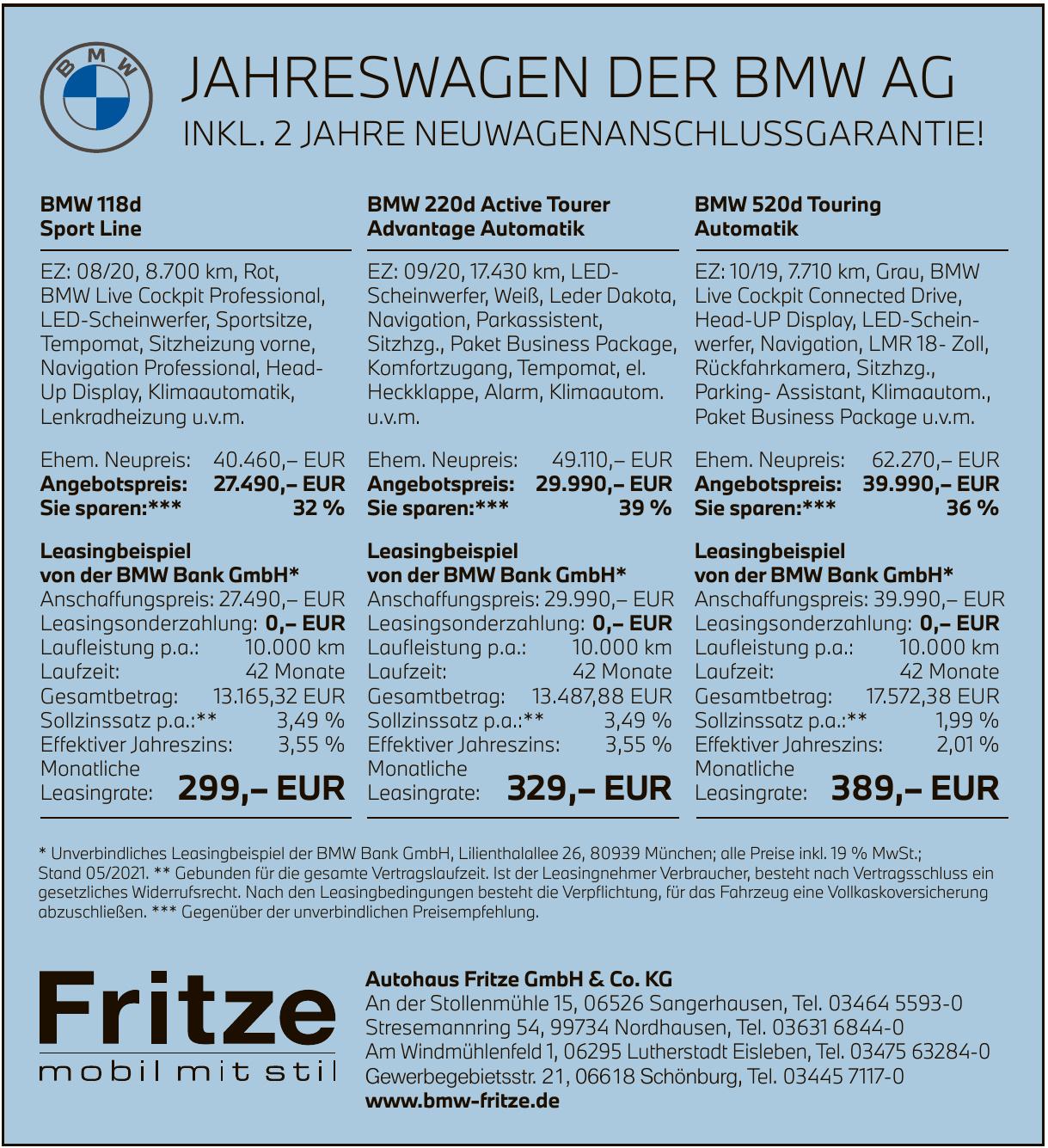 Autohaus Fritze GmbH & Co. KG