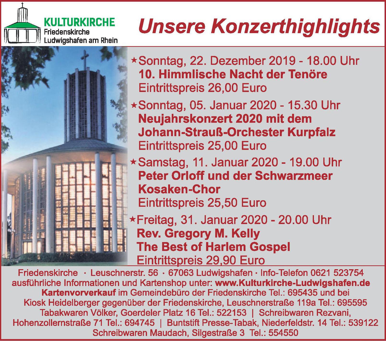 Kulturkirche Friedenskirche