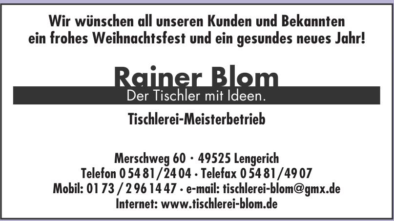 Rainer Blom