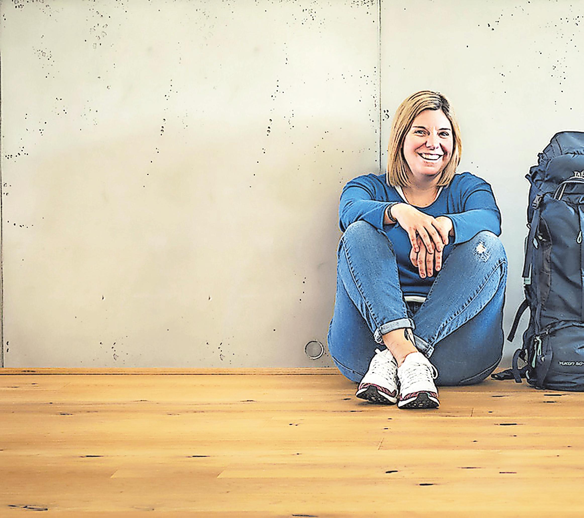 """Katrin Lehr - Seit 2013 betreibt die 43 Jahre alte Heilbronnerin ihren Reiseblog """"Viel Unterwegs""""."""