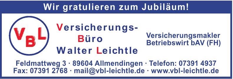 Versicherungs-Büro Walter Leichtle
