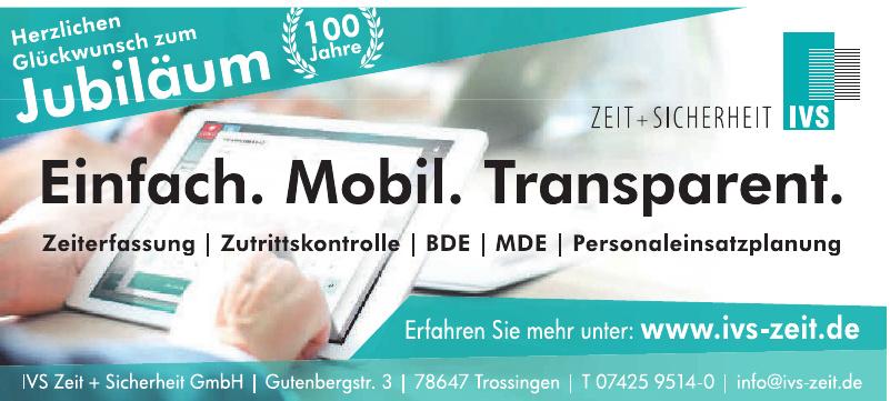 IVS Zeit + Sicherheit GmbH