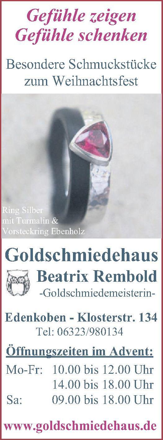 Goldschmiedehaus Beatrix Rembold