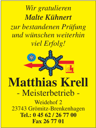 Matthias Krell - Meisterbetrieb