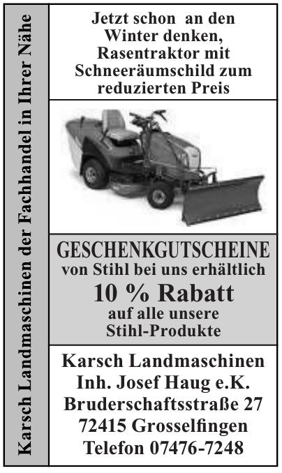 Karsch Landmaschinen e.K.