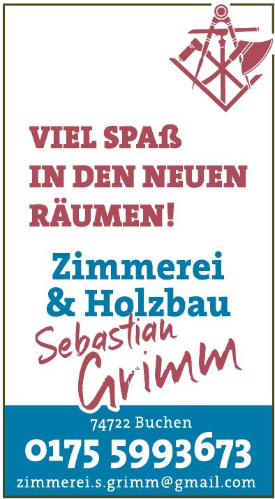 Zimmerei & Holzbau Sebastian Grimm