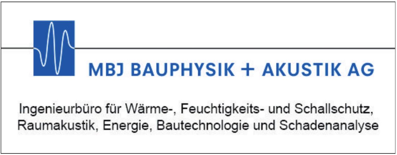 MBJ Bauphysik + Akustik AG