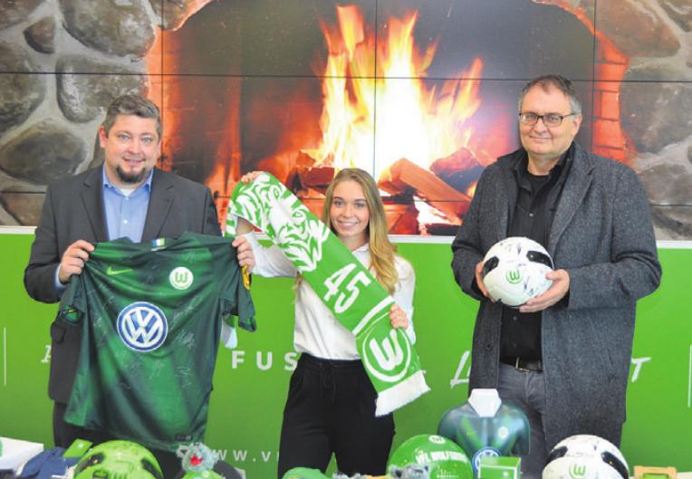 Tobias Weigt, Charlene Richter und Mario Kurznack-Bodner (von links). Foto: Volkswagen