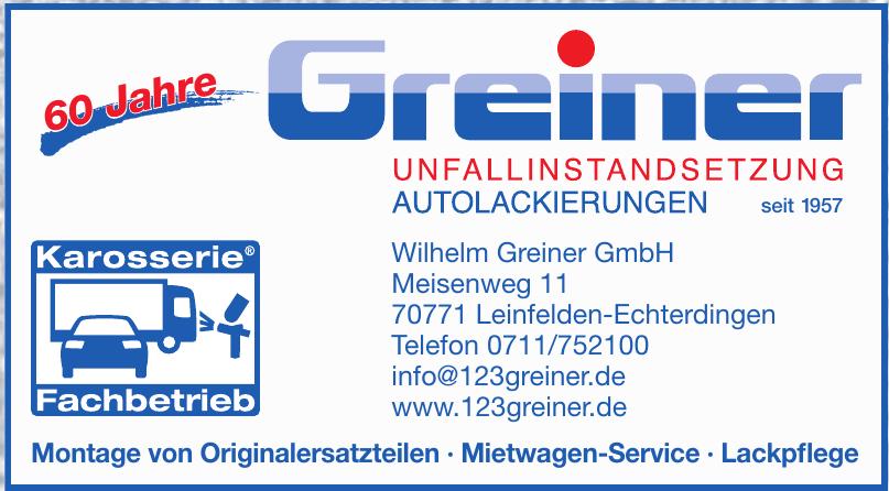 Wilhelm Greiner GmbH