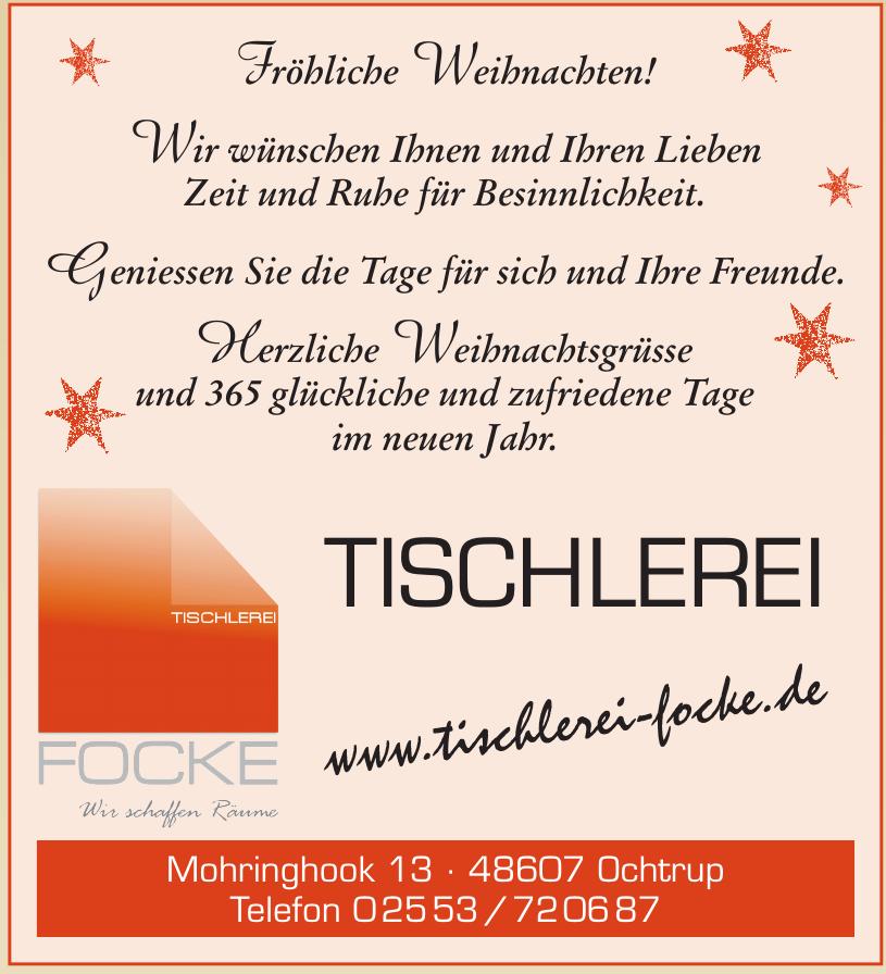 Tischlerei Focke