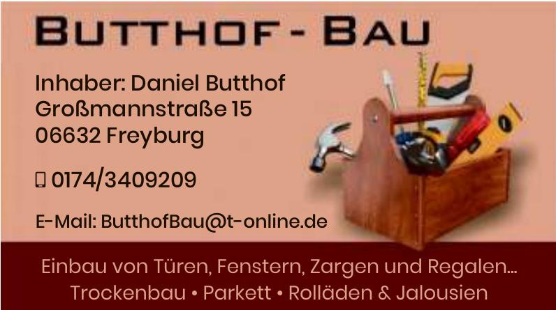Butthof-Bau
