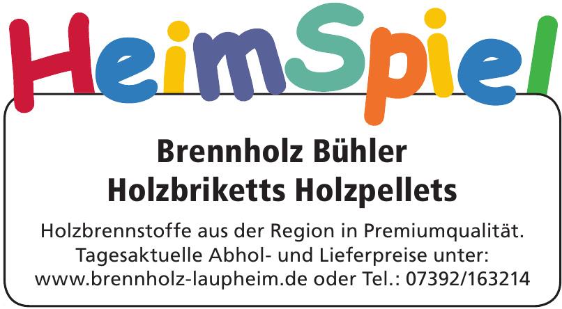 Brennholz Bühler - Holzbriketts Holzpellets